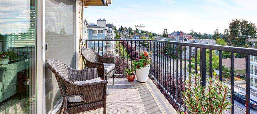 Gemütlicher Balkon in Bietigheim-Bissingen